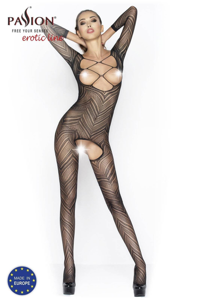 BS040 bodystocking czarne Passion Lingerie